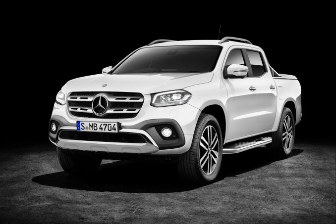 Mercedes Benz X Class Diesel 220d 4matic Pure Double Cab Pickup On