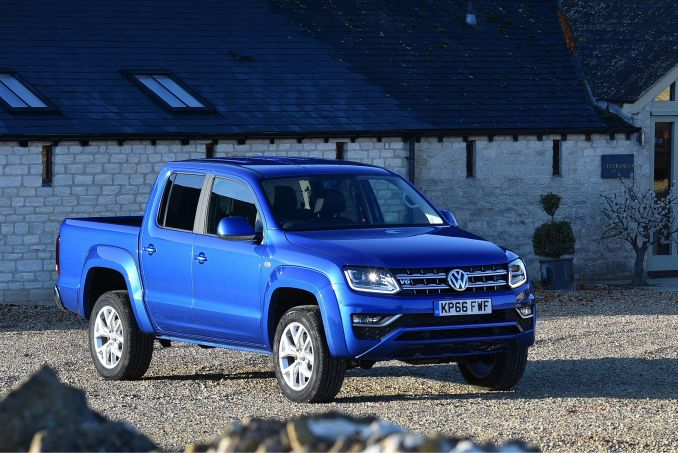 VOLKSWAGEN D/Cab Pick Up Trendline 3.0 V6 TDI 163 BMT 4Motion