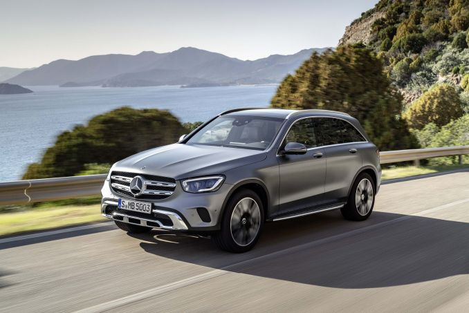 MERCEDES-BENZ GLC 220d 4Matic AMG Night Edition 5dr 9G-Tronic