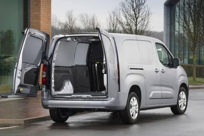 Image 3: Peugeot Partner Standard Diesel 1000 1.6 Bluehdi 100 Asphalt VAN