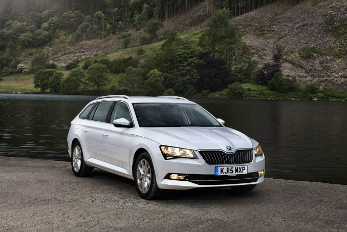 SKODA 2.0 TDI CR SE L Executive 5dr